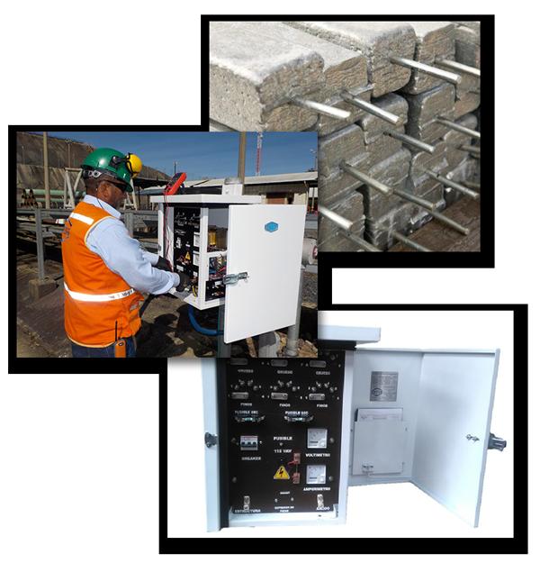 control de corrosión externa y suministros de sistemas de protección catódica